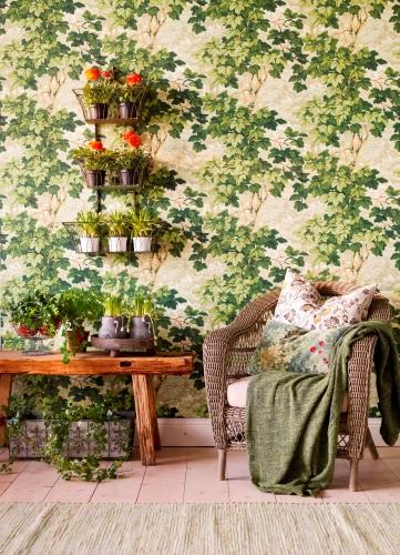 Bild 15 Med blommor och blad
